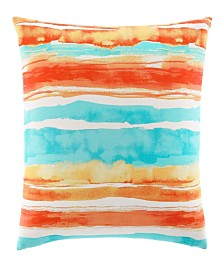 Tommy Bahama Watercolor Stripe Throw Pillow