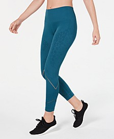 Tonal-Print Seamless Leggings, Created for Macy's
