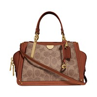 Deals on COACH Signature Dreamer 21 Mini Satchel