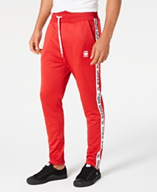 G-Star RAW Men's Side Stripe Track Pants, Created for Macy's