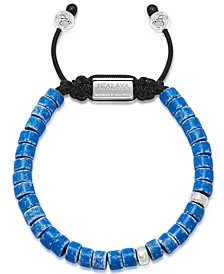 The Tulum Collection - Blue Ceramic and Silver