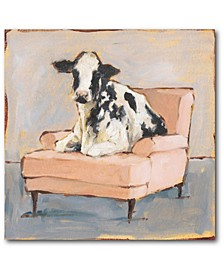 Moo-Ving in II Gallery-Wrapped Canvas Wall Art Collection
