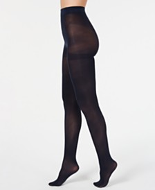I.N.C. Women's Core Opaque Tights, Created For Macy's