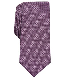 Alfani Men's Solid Slim Tie, Created for Macy's