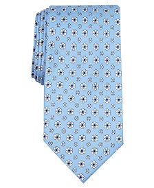 Club Room Men's Classic Neat Silk Tie, Created for Macy's