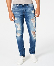 Men's Slim-Fit Morocco Ripped Jeans