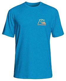 Men's Heritage Surf Logo Graphic Rash Guard