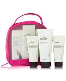 Ahava 4-Pc. Dead Sea Mud Hand, Foot & Body Cream Set