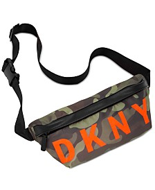 DKNY Nylon Logo Belt Bag