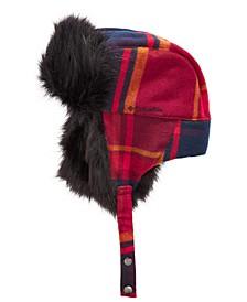 Men's Arctic Tundra Faux Fur Trapper Hat