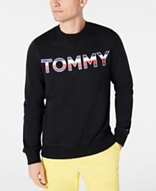 Tommy Hilfiger Men's Tried & True Regular-Fit Embroidered Logo Sweatshirt