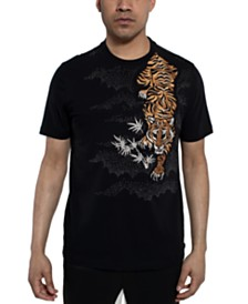 Sean John Men's Tiger Prowl Graphic T-Shirt