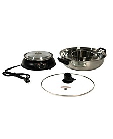 SPT Electric Shabu Shabu Pot 2Way