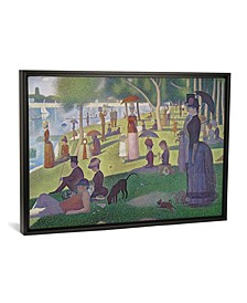 """Sunday Afternoon on The Island of La Grande Jatte, 1884-86 by Georges Seurat Gallery-Wrapped Canvas Print - 18"""" x 26"""" x 0.75"""""""