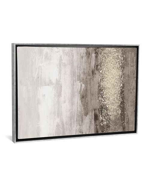 "iCanvas Glitter Rain I by Jennifer Goldberger Gallery-Wrapped Canvas Print - 26"" x 40"" x 0.75"""