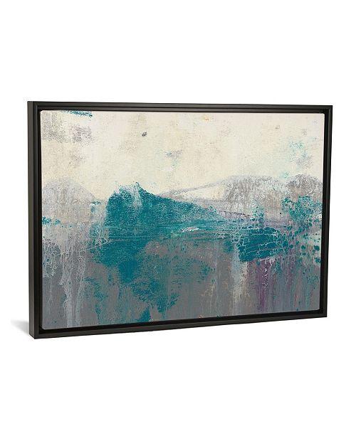 "iCanvas Teal Range Ii by Jennifer Goldberger Gallery-Wrapped Canvas Print - 18"" x 26"" x 0.75"""