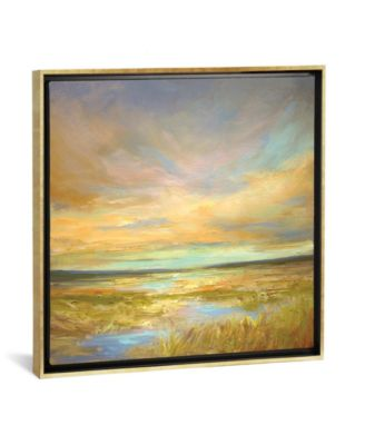 """Morning Sanctuary by Sheila Finch Gallery-Wrapped Canvas Print - 18"""" x 18"""" x 0.75"""""""