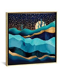 """""""Indigo Desert Night"""" by Spacefrog Designs Gallery-Wrapped Canvas Print"""