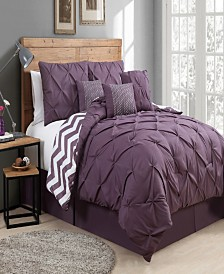 Ella 7 Pc Queen Comforter Set
