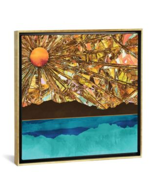 """Fractured Sky by Spacefrog Designs Gallery-Wrapped Canvas Print - 18"""" x 18"""" x 0.75"""""""