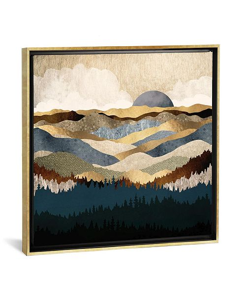 "iCanvas Golden Vista by Spacefrog Designs Gallery-Wrapped Canvas Print - 18"" x 18"" x 0.75"""