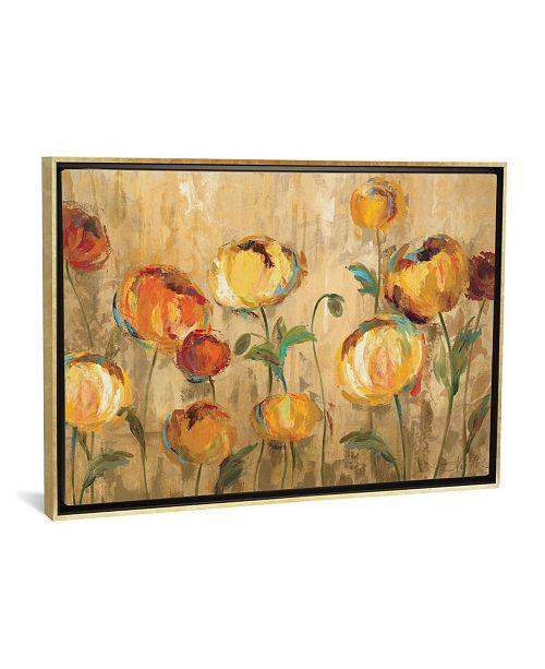 "iCanvas Joyful Ranunculi by Silvia Vassileva Gallery-Wrapped Canvas Print - 26"" x 40"" x 0.75"""