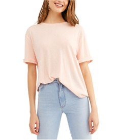 Free People Cassidy Cuffed-Sleeve T-Shirt