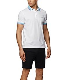 BOSS Men's Paddy Piqué Cotton Polo Shirt