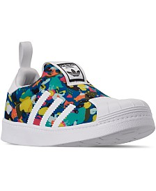 adidas Little Girls Superstar 360 Slip-On Casual Sneakers from Finish Line