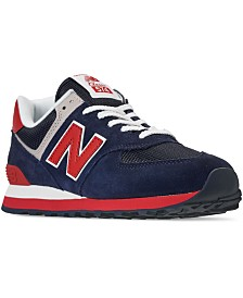 New Balance Men's 574 Americana Casual Sneakers from Finish Line