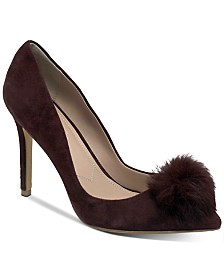 CHARLES by Charles David Pixie Pom-Pom Pumps