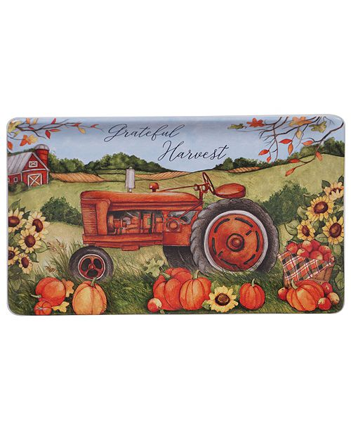 Certified International Harvest Bounty Rectangular Platter