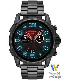 Diesel Men's Full Guard 2.5 Gunmetal Stainless Steel Bracelet Touchscreen Smart Watch 48mm, Po
