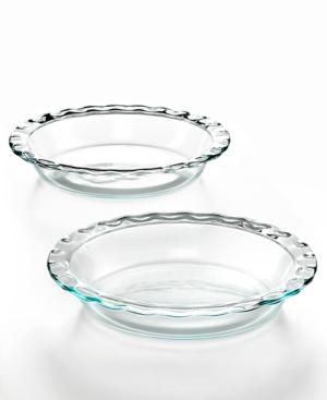 "Pyrex 9.5"" Pie Plates, Set of 2"