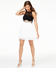 Speechless Juniors' Infinity-Waist Dress, Created for Macy's