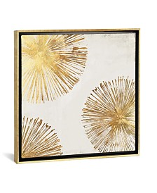 """iCanvas Gold Star Ii by Pi Galerie Gallery-Wrapped Canvas Print - 37"""" x 37"""" x 0.75"""""""