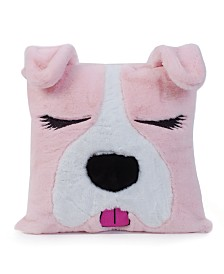 Dog Critter Fluffy Pillow