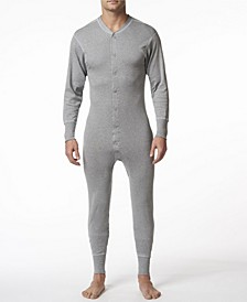 Men's Cotton Long Sleeve Onesie Combination