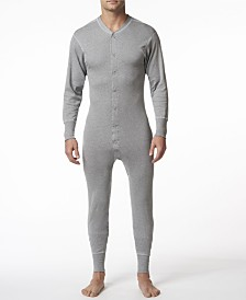 Stanfield's Men's Cotton Long Sleeve Onesie Combination
