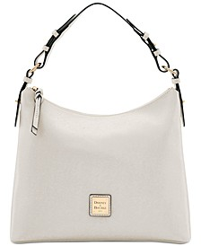 Saffiano Leather Hobo