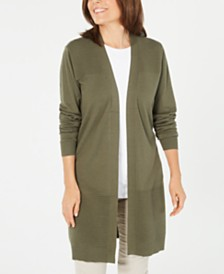 Karen Scott Duster Cardigan, Created for Macy's