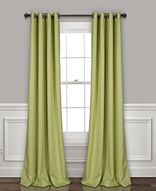 "Insulated 52"" x 120"" Blackout Curtain Set"