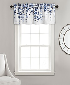 "Weeping Flower Room Darkening 18""X52"" Valance"