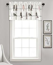 "Rowley Birds 18"" x 52"" Window Valance"