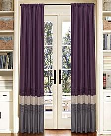 "Mia Color Block 54"" x 84"" Window Curtain Set"