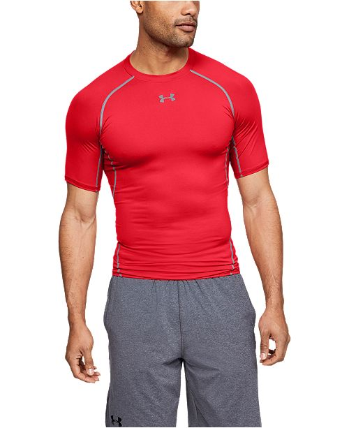 Under Armour Men's HeatGear® Armour Short Sleeve Compression Shirt