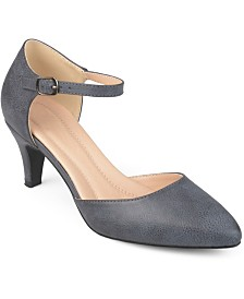 Journee Collection Women's Comfort Bettie Heels