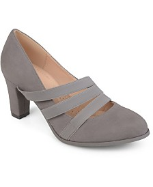 Journee Collection Women's Comfort Loren Heels
