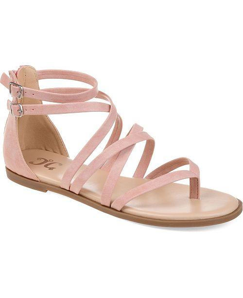 Journee Collection Women's Comfort Zailie Sandals