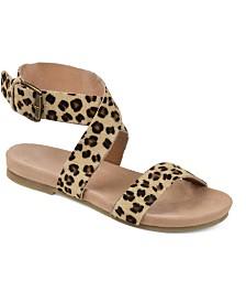 Journee Signature Women's Adller Sandals